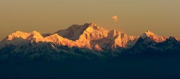 Гора Kangchendzonga Стоковое фото RF