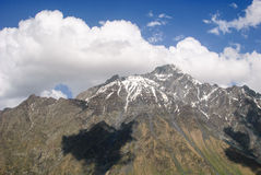 Гора Kazbek стоковое изображение