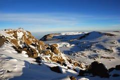 гора kilimanjaro Стоковое Изображение RF
