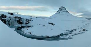 Гора Kirkjufell стоковое изображение
