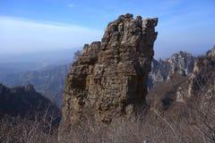 Гора Langya, Китай Стоковое Изображение