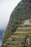 Гора Machu Picchu в Перу стоковые фотографии rf