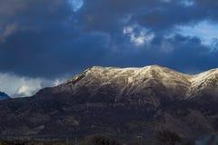 Гора Mahogany Стоковая Фотография RF