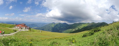 Гора Mala Fatra, Словакия, Европа Стоковое Изображение RF