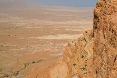 Гора Masada Стоковая Фотография RF