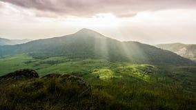 Гора Monchong очаровательная Стоковые Фото