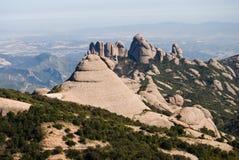 гора montserrat Стоковое Изображение