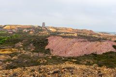 Гора Mynydd Parys Стоковое Изображение