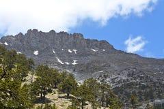 гора olympus Греции стоковое изображение