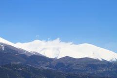 Гора Olympus стоковое изображение