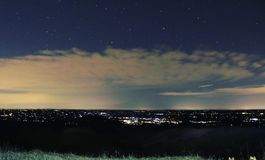 Гора Pano Стоковое фото RF
