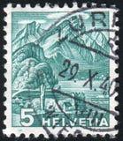 Гора Pilatus стоковые изображения rf