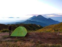 Гора Prau Стоковое фото RF