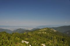 Гора Retezat, Румыния Стоковые Изображения RF