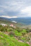 гора River Valley Иордана Стоковые Фото