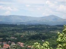 Гора, Rtanj, Popovica, точка зрения, Sokobanja, Сербия стоковые изображения rf