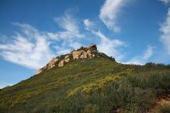 гора santa monica Стоковые Изображения RF