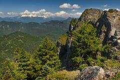Гора Sauk, Вашингтон, США Стоковая Фотография RF