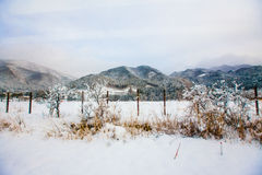 Гора scenary к Takayama Стоковое фото RF