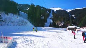 Гора Schmitten ноги, Zell до полудня видит, Австрия