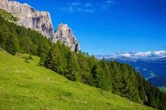 Гора Sciliar в Италии Стоковые Фотографии RF
