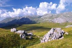 Гора Sedlo и в Босния и Герцеговина Стоковое Изображение RF