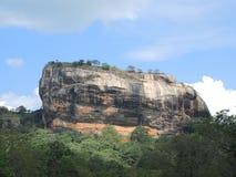 Гора Sigiriya Стоковое Изображение