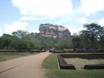 Гора Sigiriya Стоковые Изображения