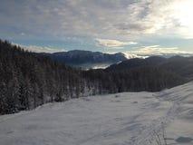 Гора Snowy Стоковые Изображения