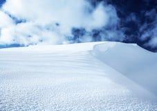 Гора Snowy стоковое изображение