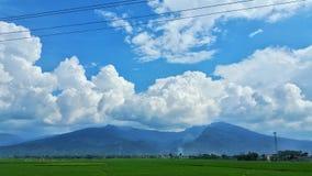 Гора Ungaran стоковая фотография