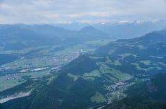 Гора Untersberg, Зальцбург, Австрия стоковая фотография