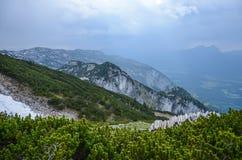 Гора Untersberg, Зальцбург, Австрия стоковое изображение