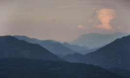 Гора Untersberg, Зальцбург, Австрия стоковые фото