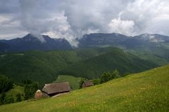 гора VII ландшафта Стоковое фото RF