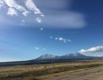 Гора Walsenburg Колорадо стоковые изображения rf