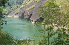 Гора WuYiShan Стоковое фото RF