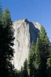 Гора Yosemite утеса Стоковое фото RF