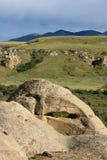 горбы холмов coulees Стоковые Фото