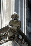 Горгулья на соборе Кёльна, Германии Стоковое Фото