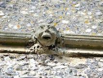 Горгулья поверх башни церков St Mary, старого Amersham, Buckinghamshire, Великобритании стоковые фото
