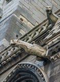 Горгульи в Париже Стоковое фото RF