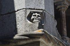 Горгулья в монастыре заказа Христоса, Tomar, Португалия, Стоковая Фотография RF