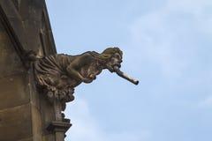 Горгулья на соборе St Vitus Стоковая Фотография