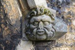 Горгулья на церков аббатства Waltham Стоковая Фотография