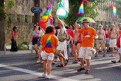 гордость гомосексуалиста 10 дней Стоковое Фото