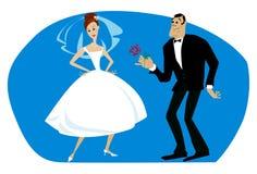 гордость невесты Стоковое фото RF