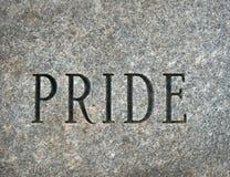 гордость Стоковая Фотография RF