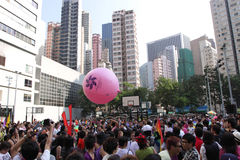 гордость 2009 парада Hong Kong Стоковые Изображения RF