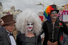гордость 2010 brighton Стоковая Фотография RF